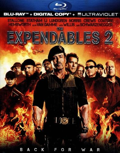 The Expendables 2 [Blu-ray] [Includes Digital Copy] [UltraViolet] [2012] 6885882