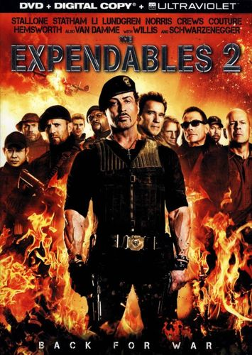 The Expendables 2 [Includes Digital Copy] [UltraViolet] [DVD] [2012] 6885891