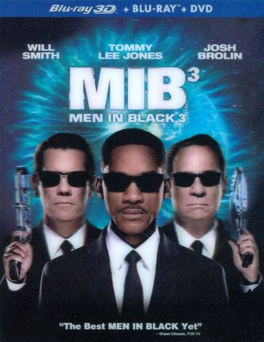 Men in Black 3 [3 Discs] [Includes Digital Copy] [UltraViolet] [3D] [Blu-ray/DVD] [Blu-ray/Blu-ray 3D/DVD] [2012] 6891386