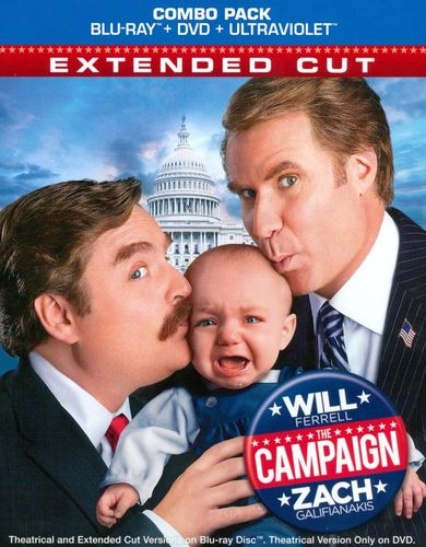 The Campaign [2 Discs] [Includes Digital Copy] [UltraViolet] [Blu-ray/DVD] [2012] 6896044