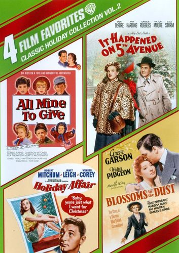 Classic Holiday Collection, Vol. 2: 4 Film Favorites [4 Discs] [DVD] 6899227