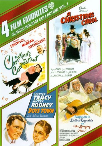 Classic Holiday Collection, Vol. 1: 4 Film Favorites [4 Discs] [DVD] 6899254