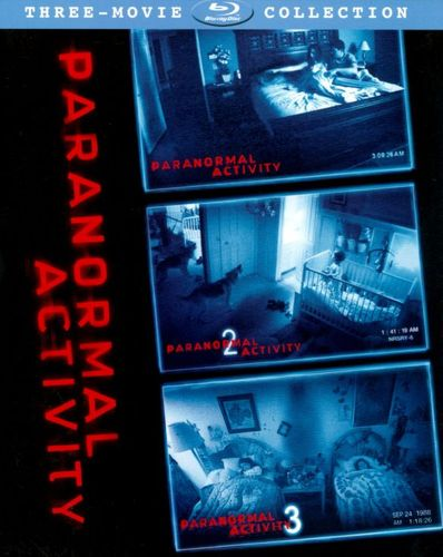 Paranormal Activity Trilogy Gift Set [3 Discs] [Blu-ray] 6900048
