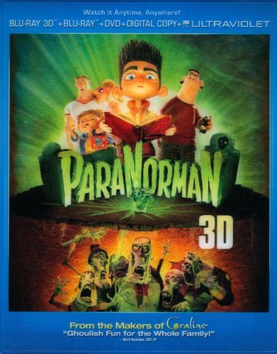 ParaNorman [3 Discs] [Includes Digital Copy] [UltraViolet] [3D] [Blu-ray/DVD] [Blu-ray/Blu-ray 3D/DVD] [2012] 6906273