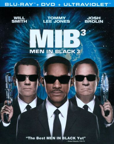 Men in Black 3 [2 Discs] [Includes Digital Copy] [UltraViolet] [Blu-ray/DVD] [2012] 6907111