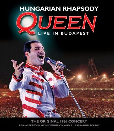 Hungarian Rhapsody: Queen Live in Budapest [Blu Ray/2CD] [CD] 6923986