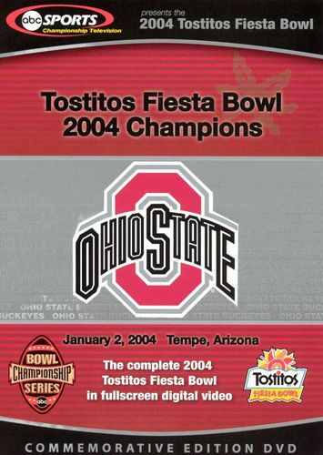 The 2004 Tostitos Fiesta Bowl [Commemorative Edition] [DVD] [2004] 6932689