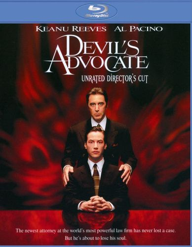The Devil's Advocate [Unrated Director's Cut] [Blu-ray] [1997] 6933601