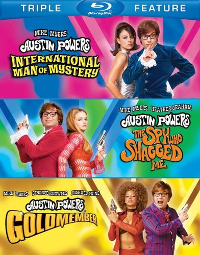 Austin Powers: International Man of Mystery/The Spy Who Shagged Me/Goldmember [3 Discs] [Blu-ray] 6934203