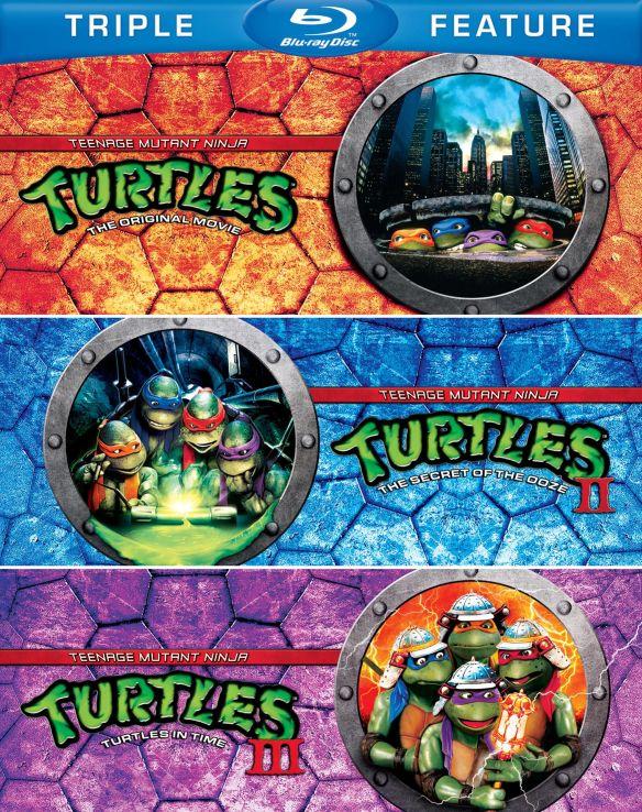 Teenage Mutant Ninja Turtles Triple Feature [3 Discs] [Blu-ray] 6934258