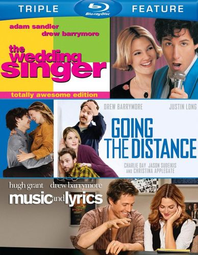 The Wedding Singer/Going the Distance/Music and Lyrics [3 Discs] [Blu-ray] 6934346