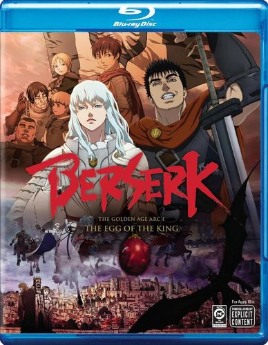 Berserk: The Golden Age Arc - The Egg of the King [Blu-ray] [2012] 6934433