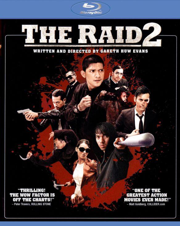 The Raid 2 [Includes Digital Copy] [UltraViolet] [Blu-ray] [2014] 6938047