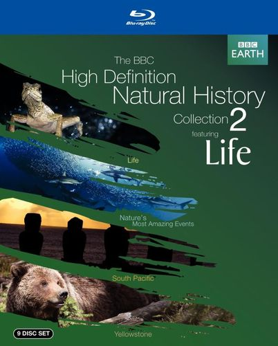 The BBC High Definition Natural History Collection 2 Featuring Life [10 Discs] [Blu-ray] 6954118