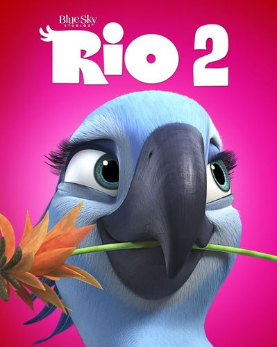 Rio 2 [2 Discs] [Includes Digital Copy] [Blu-ray/DVD] [2014] 6955008
