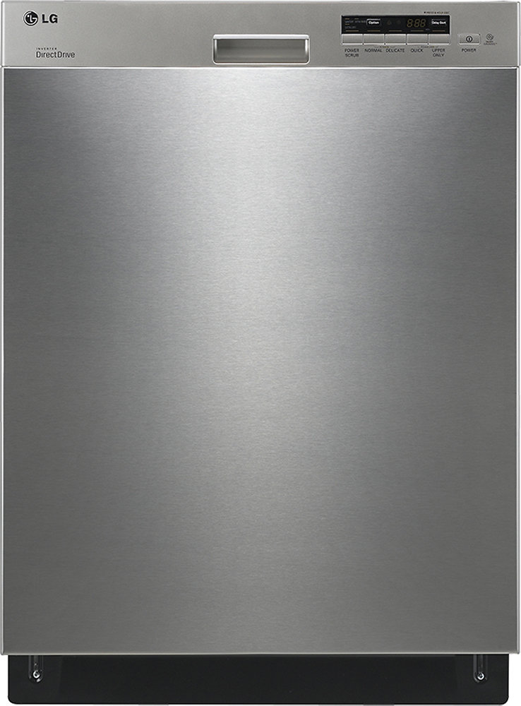 "LG 24"" Built-In Dishwasher with Stainless Steel Tub Stainless steel LDS5040ST"