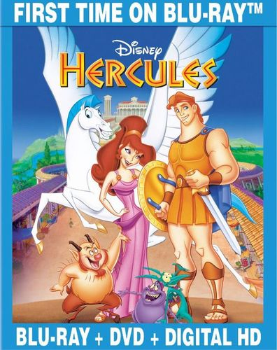 Hercules [2 Discs] [Includes Digital Copy] [Blu-ray/DVD] [1997] 6959013