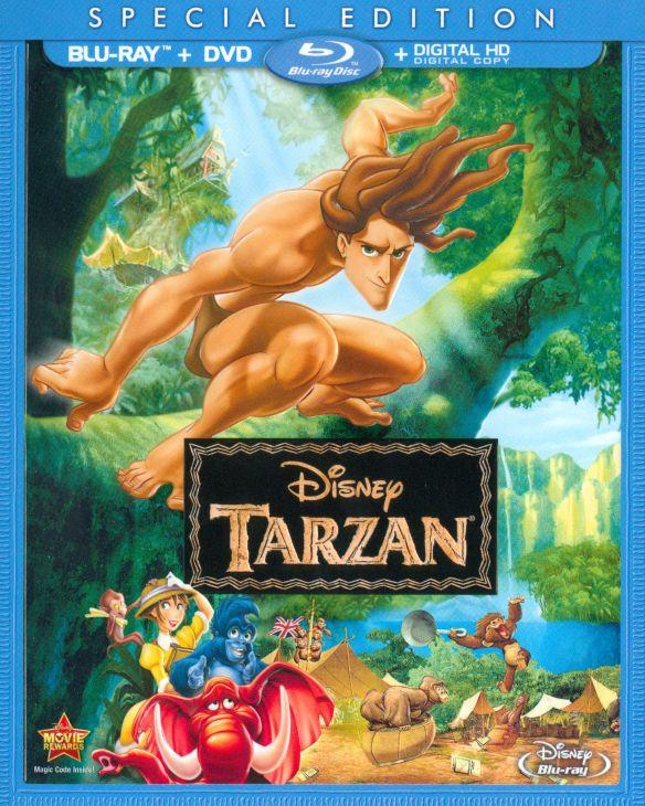 Tarzan [2 Discs] [Includes Digital Copy] [Blu-ray/DVD] [1999] 6959119