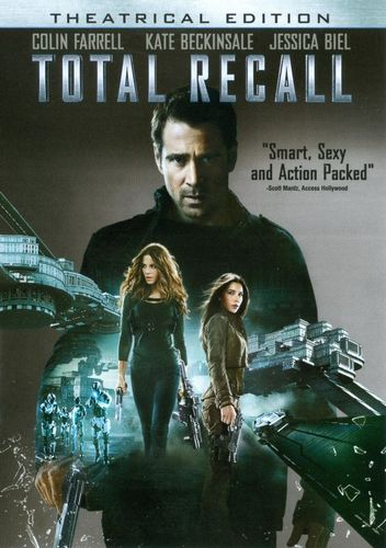 Total Recall [Includes Digital Copy] [UltraViolet] [DVD] [2012] 6967412
