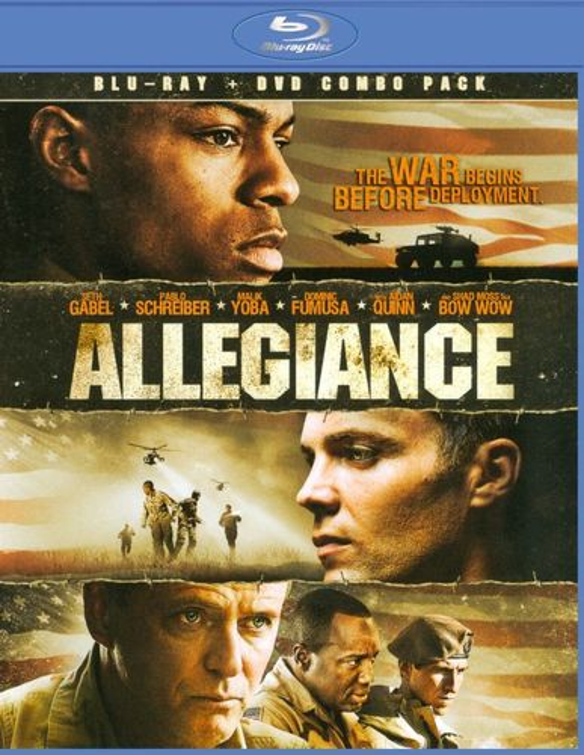 Allegiance [2 Discs] [Blu-ray/DVD] [2012] 6975381