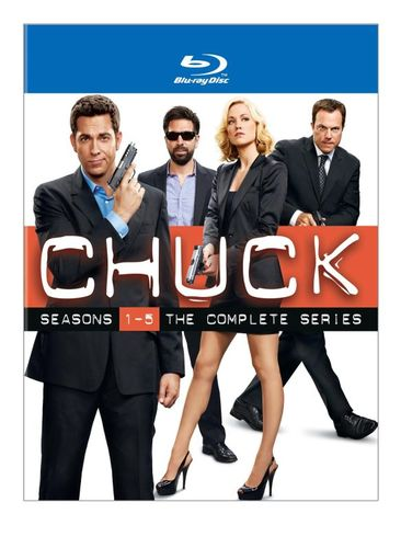Chuck: The Complete Series [17 Discs] [Blu-ray] 6983947