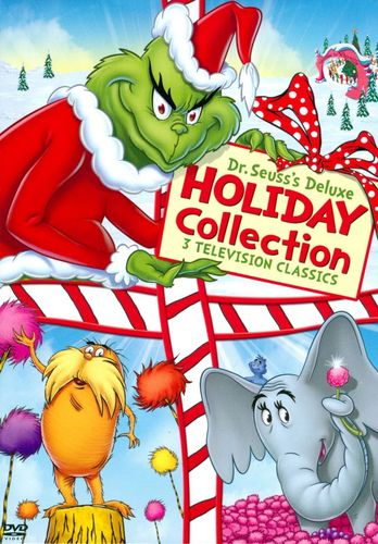 Dr. Seuss's Deluxe Holiday Collection [3 Discs] [DVD] 6983974