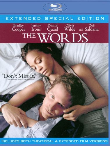 The Words [Blu-ray] [Includes Digital Copy] [UltraViolet] [2011] 6984355