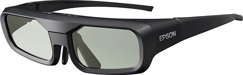 Epson - Rechargeable RF 3D Glasses - Black 6984728