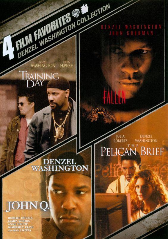 Denzel Washington Collection: 4 Film Favorites [4 Discs] [DVD] 6987661