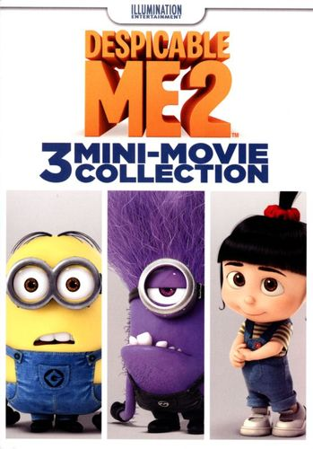 Despicable Me 2: 3 Mini-Movie Collection [DVD] 6991135