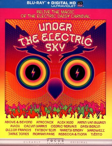 Under the Electric Sky [Includes Digital Copy] [UltraViolet] [Blu-ray] [2014] 6991222