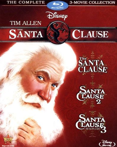 The Santa Clause: The Complete 3-Movie Collection [3 Discs] [Blu-ray] 6998333