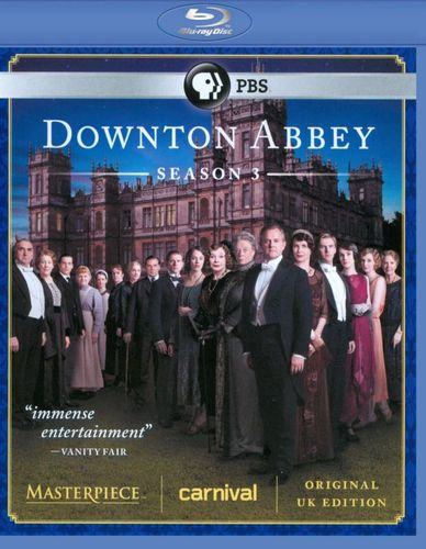 Masterpiece: Downton Abbey - Season 3 [Blu-ray] 7005307