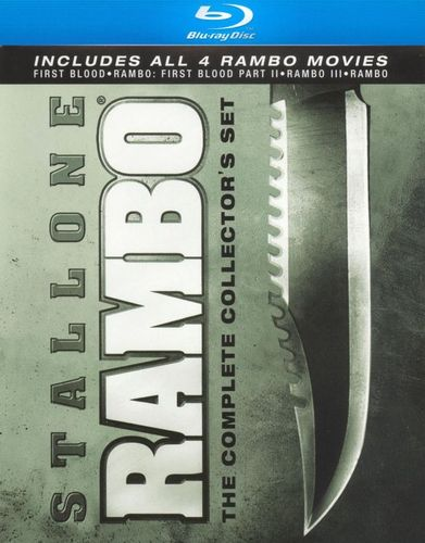 Rambo: The Complete Collector's Set [4 Discs] [Blu-ray] 7012219