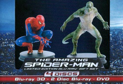 The Amazing Spider-Man Gift Set [4 Discs] [With Figurine] [UltraViolet] [3D] [Blu-ray/DVD] [Blu-ray/Blu-ray 3D/DVD] [Eng/Fre/Spa] [2012] 7012246