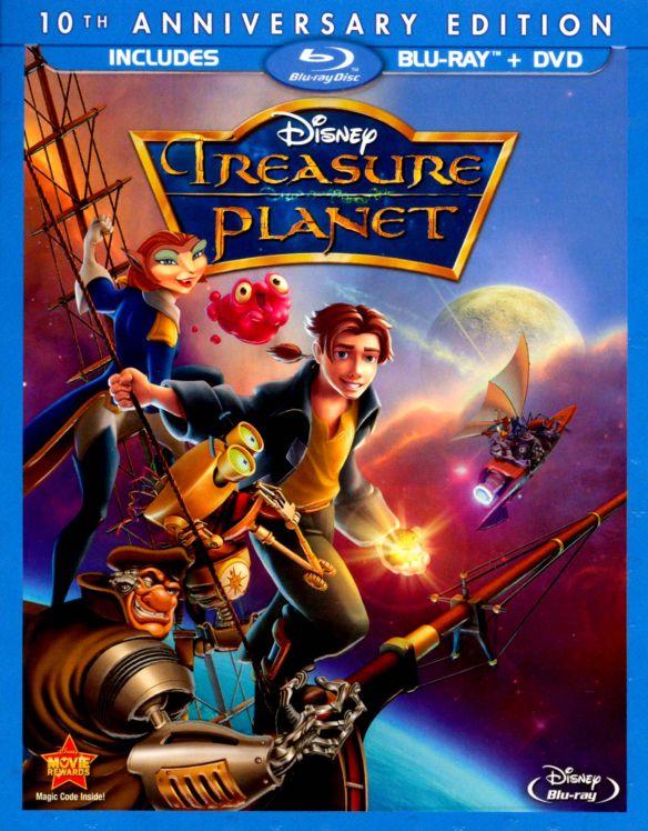 Treasure Planet [10th Anniversary Edition] [Blu-ray] [2002] 7025073