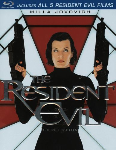 The Resident Evil Collection [5 Discs] [Blu-ray] 7025116