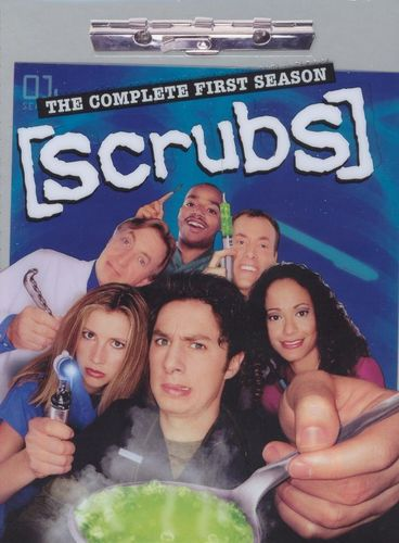 Scrubs: The Complete First Season [3 Discs] [DVD]