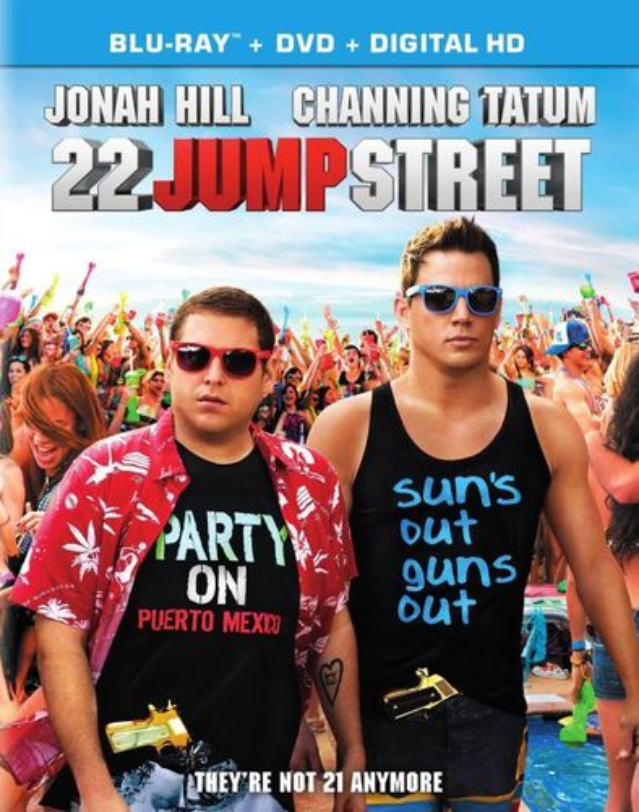 22 Jump Street [2 Discs] [Includes Digital Copy] [UltraViolet] [Blu-ray/DVD] [2014] 7045027