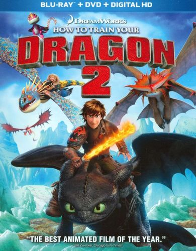 How to Train Your Dragon 2 [Blu-ray/DVD] [Includes Digital Copy] [2014] 7046113