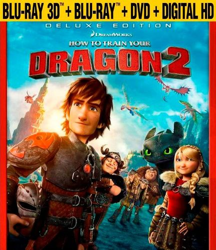 How to Train Your Dragon 2 [3D] [Blu-ray/DVD] [Includes Digital Copy] [Blu-ray/Blu-ray 3D/DVD] [2014] 7046177