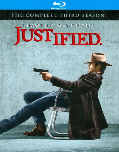 Justified: The Complete Third Season [3 Discs] [Blu-ray] 7055434