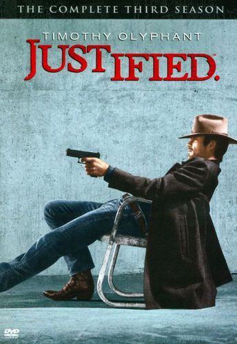 Justified: The Complete Third Season [3 Discs] [DVD] 7055443