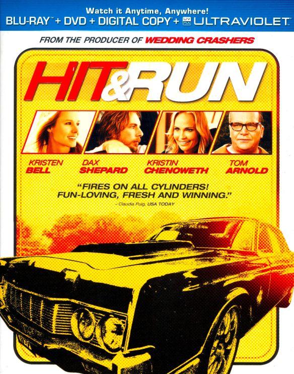 Hit & Run [Includes Digital Copy] [UltraViolet] [Blu-ray] [2012] 7056249