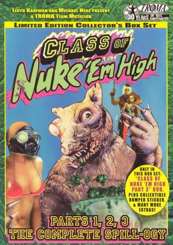 Class of Nuke 'Em High, Pts. 1-3: The Complete Spill-ogy [Limited Edition Collector's Box Set] [DVD] 7061243