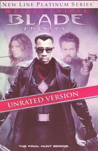 Blade: Trinity [Unrated] [2 Discs] [DVD] [2004] 7063928
