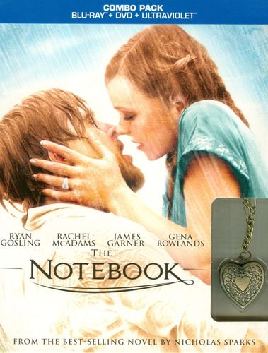 The Notebook [Ultimate Edition] [2 Discs] [Includes Digital Copy] [UltraViolet] [Blu-ray/DVD] [2004] 7079137