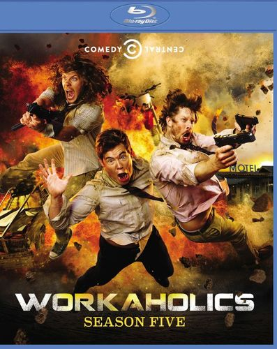 Workaholics: Season Five [2 Discs] [Blu-ray] 7092124