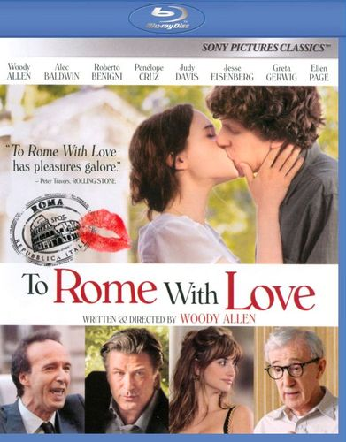 To Rome with Love [Blu-ray] [2012] 7113101