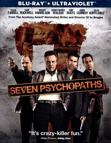 Seven Psychopaths [Includes Digital Copy] [UltraViolet] [Blu-ray] [2012] 7117091
